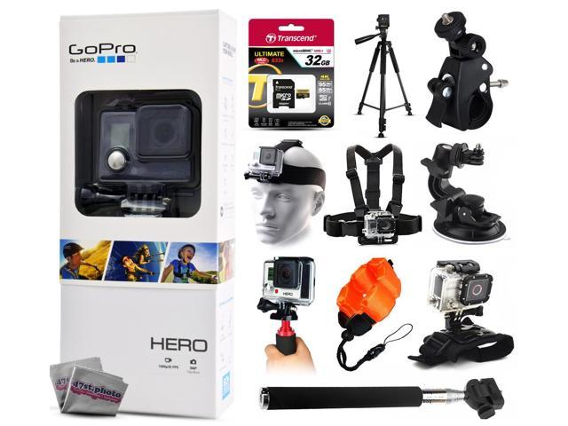 gopro hero action camera chdha 301 with 32gb ultra memory 60 pro series tr. Black Bedroom Furniture Sets. Home Design Ideas