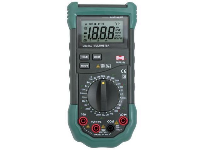 Sinometer MS8261 30-Range Digital Multimeter with Capacitance Measurement