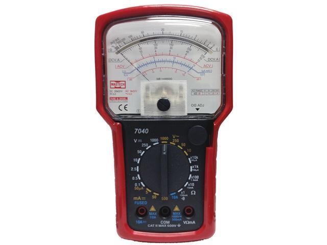 Sinometer M7040 20-Range AC DC Analog Multimeter with Continuity Buzzer