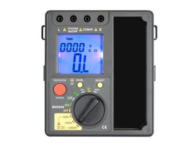 Sinometer BM3549 Digital Multimeter & Insulation Tester 2500V 40 GOhm