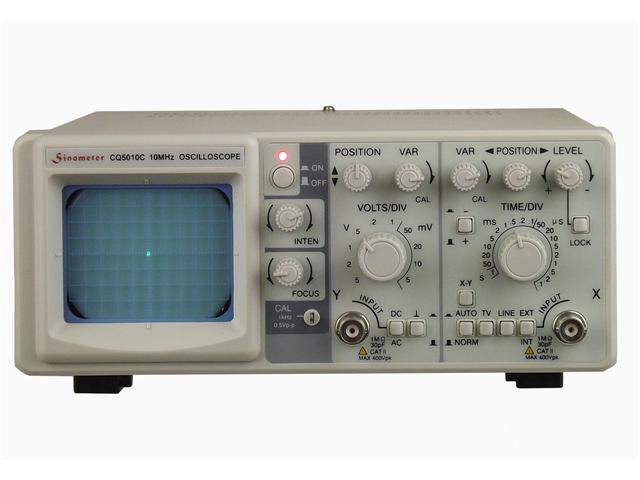 Sinometer CQ5010C 10 MHz Single Channel Oscilloscope
