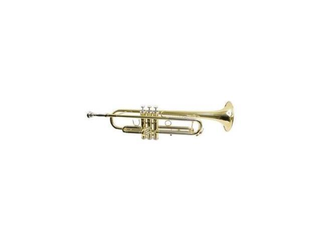Hisonic Signature Series 2110L Bb Trumpet with Case, Brass Finish