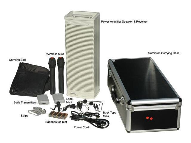 Hisonic HS322 Portable Rechargeable PA system with Wireless Microphone