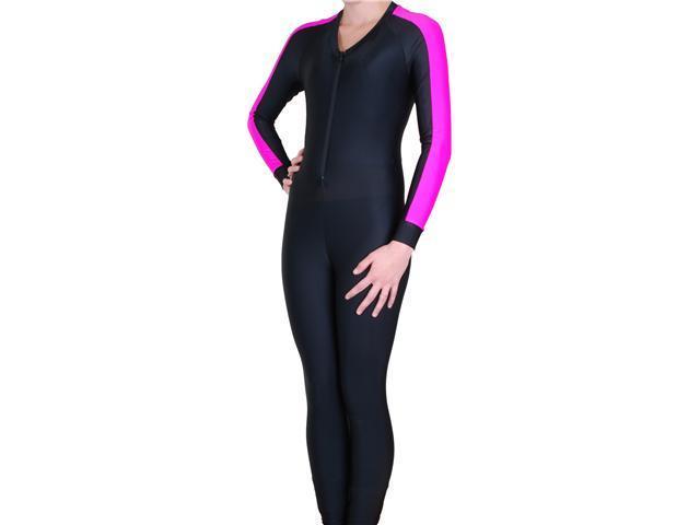 Scuba Diving Snorkeling Swim Women's Lycra Skin Full Suit Wetsuit