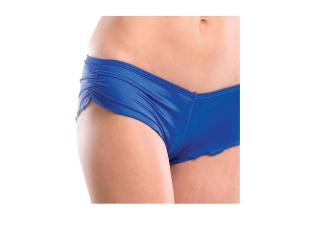 Side Scrunch Shorts 1204SL Body Zone Turquoise One Size Fits All