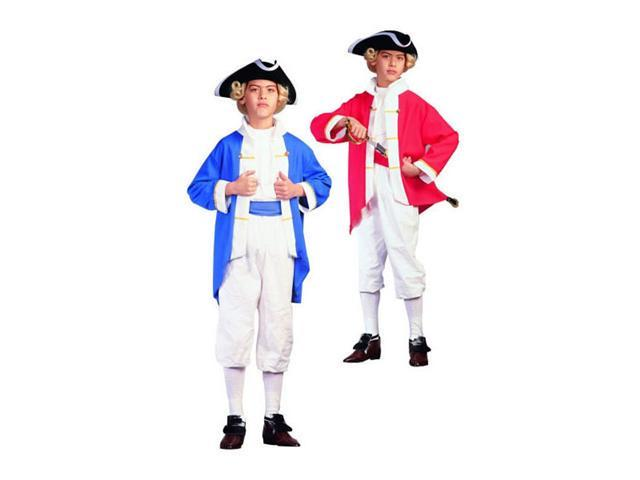Childs Colonial Captain Costume