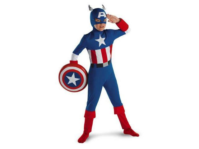 Child Captain America Costume Disguise 50143