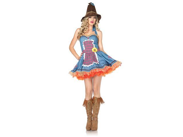 Adult Sunflower Scarecrow Costume Leg Avenue 83833