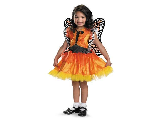 Child Magic Monarch Butterfly Costume Disguise 24863