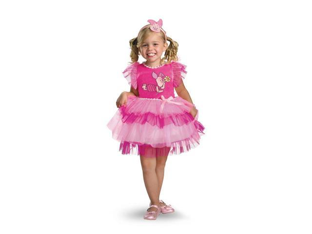 Child Frilly Piglet Dress Costume Disguise 25645