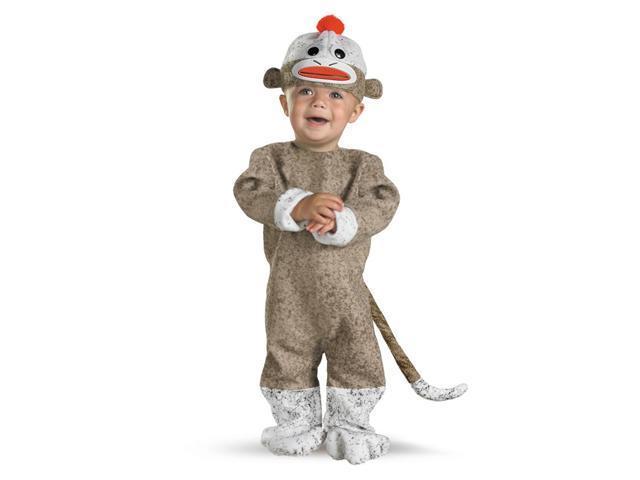 Infant Sock Monkey Costume Disguise 1769