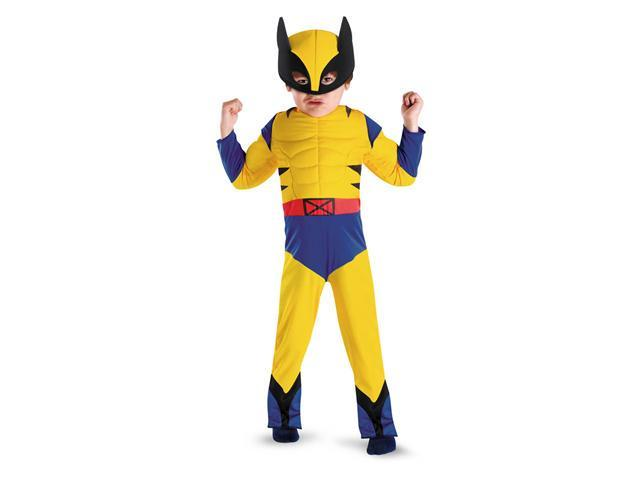 Boys Wolverine Toddler Muscle