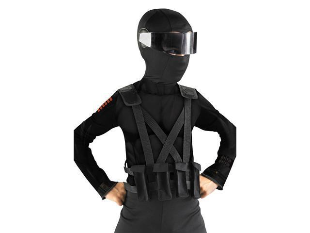 Snake Eyes G.I. Joe Combat Vest and Holster Deluxe for Kids