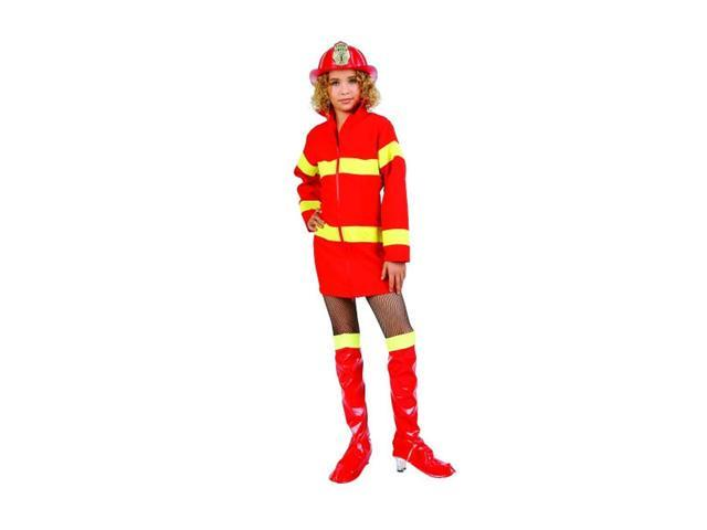 Juniors Fire Heroine Red Costume