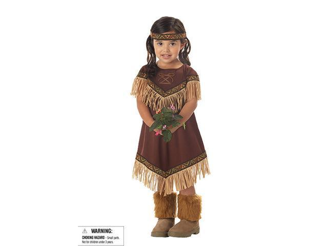 Lil' Indian Princess Toddler/Child Costume