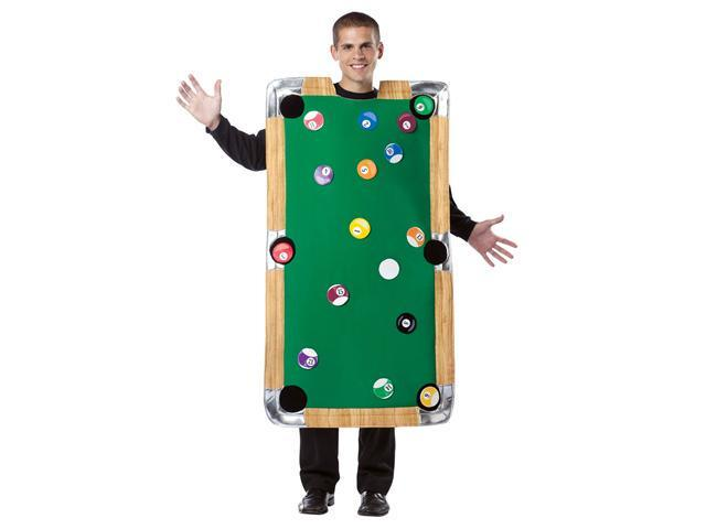 Pool Table Adult Costume