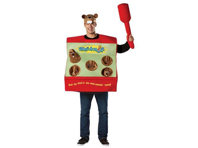 Mens Whac-a-mole Arcade Game Costume