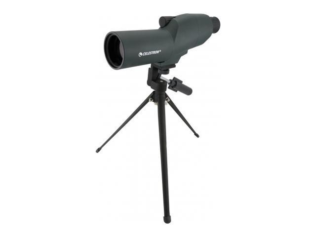Celestron 15-45x50 Zoom Refractor Spotting Scope, Matte black w/ Tripod & Case 5