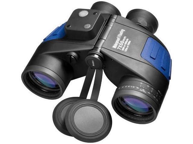 BARSKA AB10798 Waterproof Marine Binoculars w/Built-In Rangefinding Reticle
