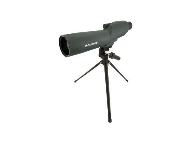 Celestron 20-60x60mm Zoom Refractor Straight Spotting Scope, Green