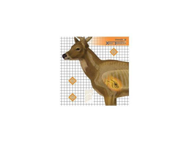Champion Traps and Targets Deer Target 25 X 25 (6pk)