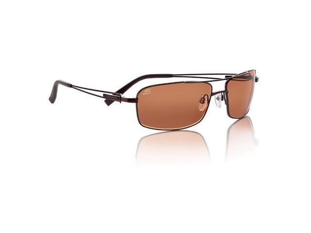 Serengeti Dante Sunglasses, Shiny Espresso Frame, Drivers Lens