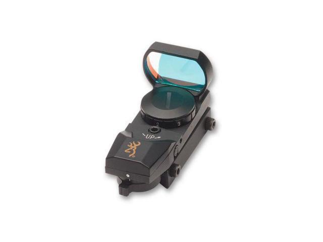 Browning Buckmark Reflex Sight w/7-Position Brightness Rheostat & Selectable Ret
