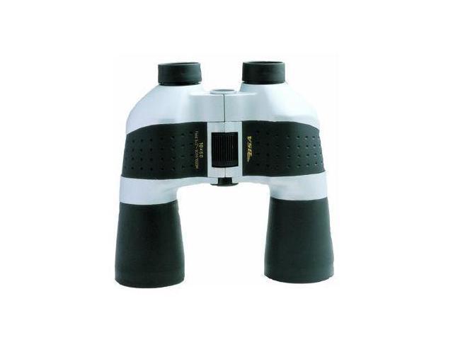 BSA Optics 10X50 Porro Prism Rubber Armored Binoculars, Black - Blister Pack - C