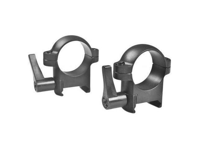 Burris Zee Quick Detach Solid Steel 1 Inch Rings - Medium, Matte Black
