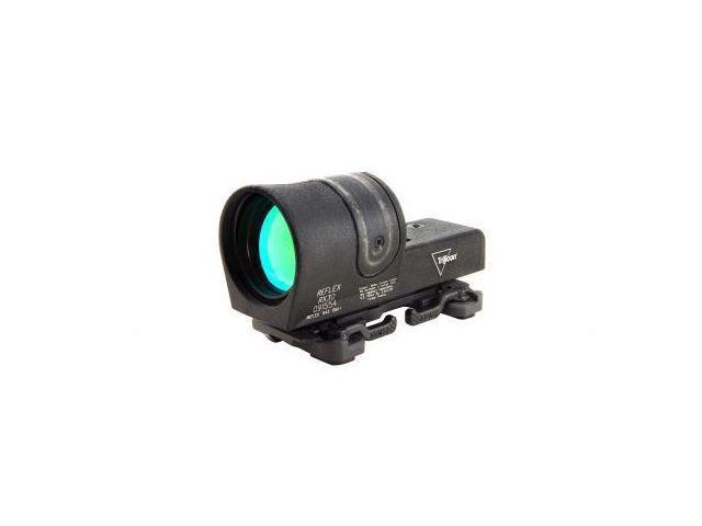 Trijicon Reflex 42mm 6.5 MOA Amber Dot Sight, Black w/ A.R.M.S. 15 Flattop Mount
