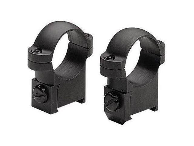 Burris CZ 527 SA 1Inch Medium Gloss Black Solid Steel Ring Mounts
