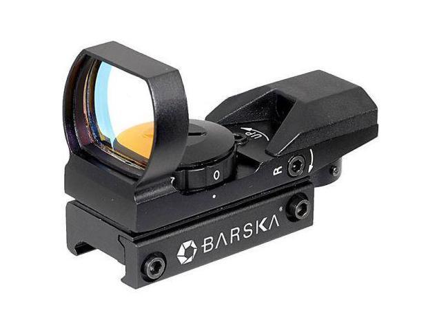 Barska Electro Sight Multi Reticle Red Dot Sight, Black w/7-Position Rheostat AC10632
