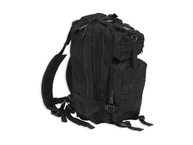 Bulldog Cases Extreme Compact Level 3 Assault Backpack - Black BD410