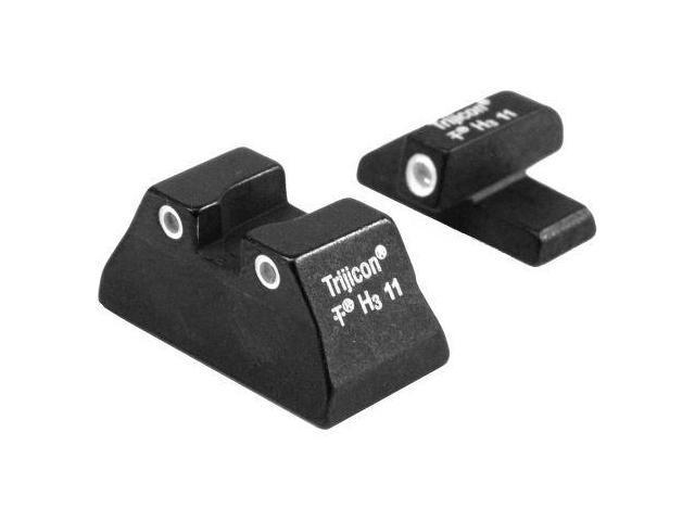 Trijicon Tritium Gun Sight H&K USP Compact Green/Green 3 Dot TRHK08