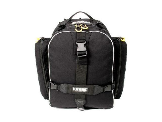 Blackhawk Initial Response Backpack, Black w/ Main Compartment & 2 Side Pockets