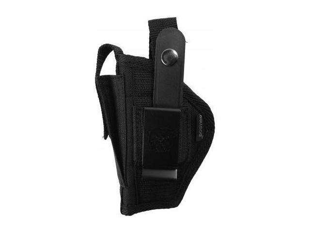 Bulldog Cases Belt And Clip Ambi Holster w/ Color Header Card Packaging for Most