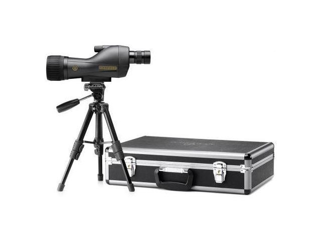 Leupold SX-1 Ventana 15-45x60mm Straight Kit, Black Spotting Scope with Case and