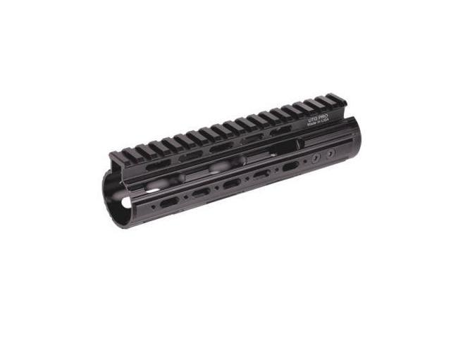 UTG PRO AR15 Carbine 7 in. Super Slim Free Float Handguard with Single Extended