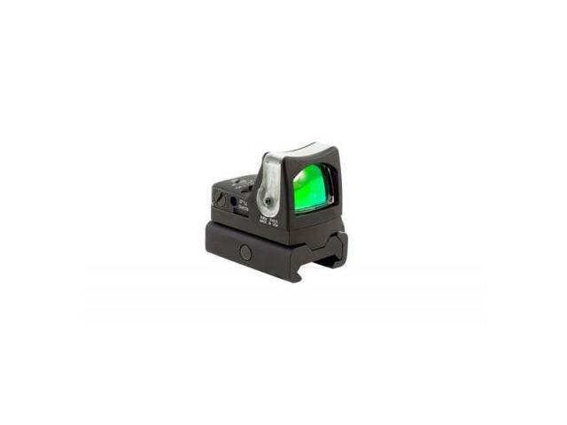 Trijicon RMR 7 MOA Amber Dot Dual Illuminated Sight w/ RM34W Weaver Rail Mount