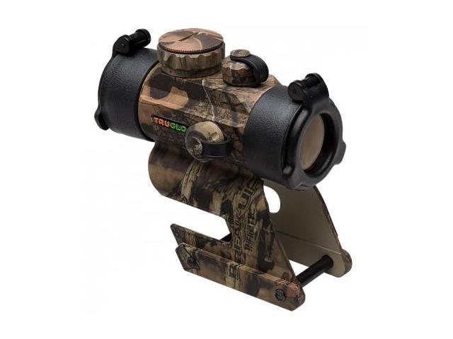 TruGlo IRM 30mm Waterproof 1 MOA Unlimited Eye Relief Red Dot Sight, Camo TG8030