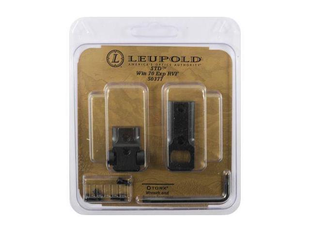 Leupold Standard 2 Piece Mount Base, Winchester 70 Exp Both Rev, Gloss Black