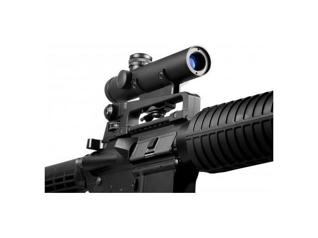 Barska 4x20 Electro Sight Rifle Scope for M-16 Carry Handle Mount