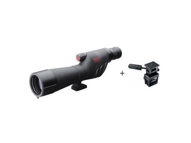 Redfield 67600 Rampage 20-60x60mm Straight Spotting Scope, w/ Nikon Window Mount