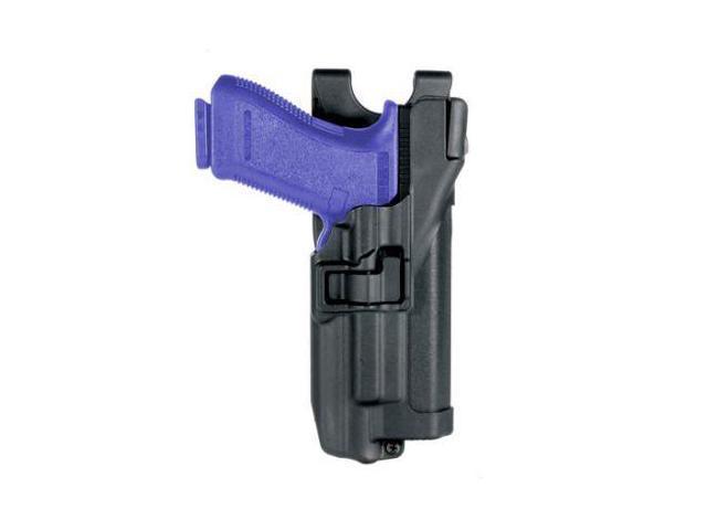 BLACKHAWK 44H500PL-L Xiphos Duty Holster,Left,Glock 17/19