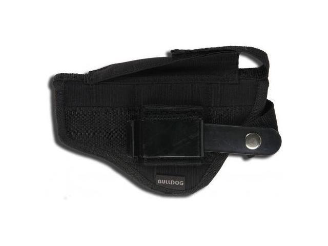 Bulldog Cases Belt & Clip Ambi Holster - Most Standard 2-5in Barrel Autos w/Lase
