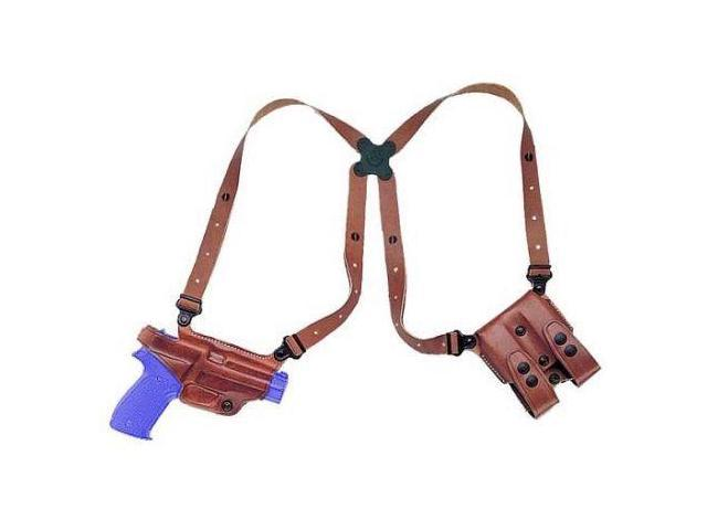 Galco Miami Classic Shoulder Holster System, Tan, Ambidextrous, Kahr K9/K40 - MC