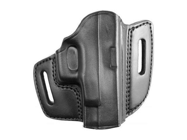 G&G  Open Top Two Slot Holster, Black, Right Hand - For Glock 26/27/33/3