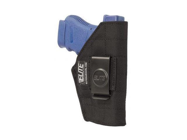 Elite Survival Systems Inside the Pant Clip Holster, IWB, Fits compact Glock, Si