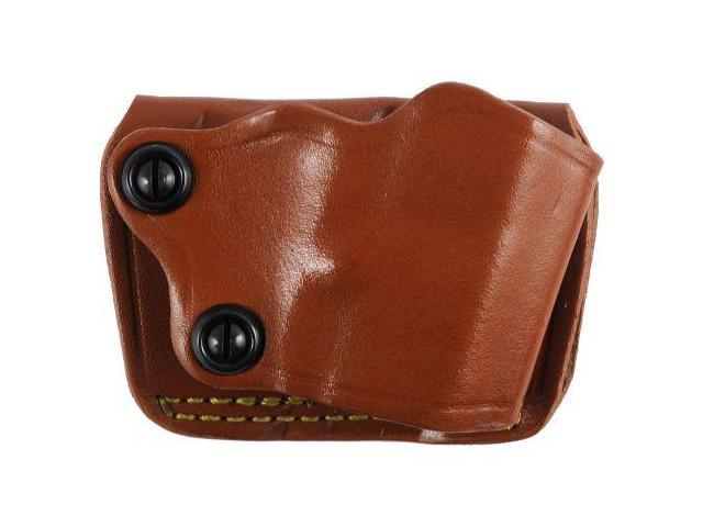 Gould & Goodrich 801 Yaqui Slide Holster, Chestnut, Right Hand - 1911-Style 3-5i