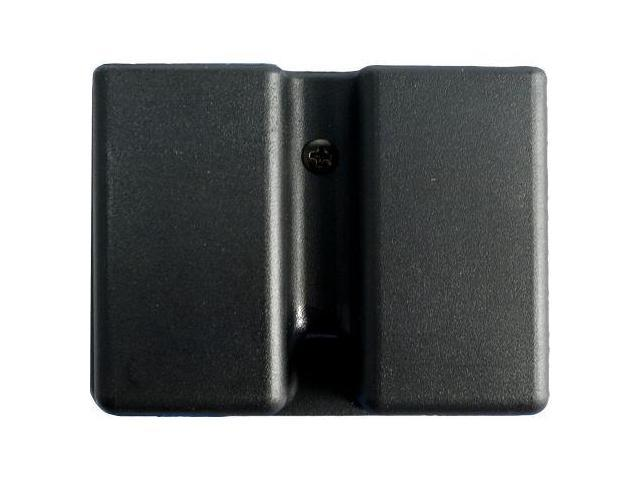 Uncle Mike's Kydex Accessories - Double Row Double Magazine Case - Belt Loop 513